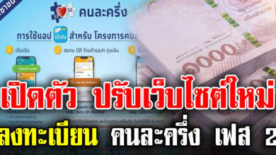 Photo of กรุงไทย ปรับปรุงเว็บไซต์ใหม่ เพิ่มประสิทธิภาพ พร้อมแล้วให้ลงทะเบียนคนละครึ่งเฟส2